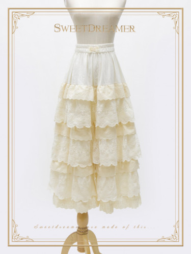 Pure Cotton Lace Lolita Bloomer