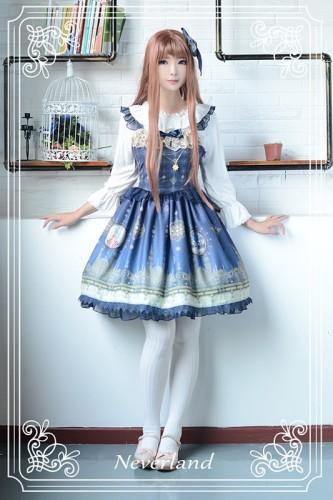 Neverland Lolita ~Arabian Nights~ High Waist Lolita JSK with Pendant