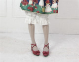 Little Dipper Sweet Pure Cotton Jaquard Lolita Bloomer Long Version -Pre-order