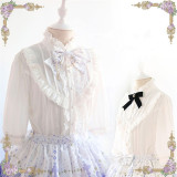 Magic In The Spring ~Sweet Lace  Lolita Blouse(Neckbow Excluded) -out