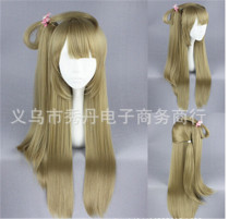 Sweet Flaxen Lolita Long Straight Wig