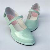 Mint Ladies Lolita Shoes