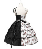 Flower Banquet~ Classic Lolita Jumper -Ready Made