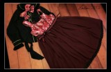 HMHM Wa Lolita Dress High Waist Cotton JSK
