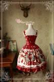 Sweet Christmas~ Sweet Lolita Printed JSK Dress