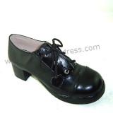 White Straps Lolita Shoes