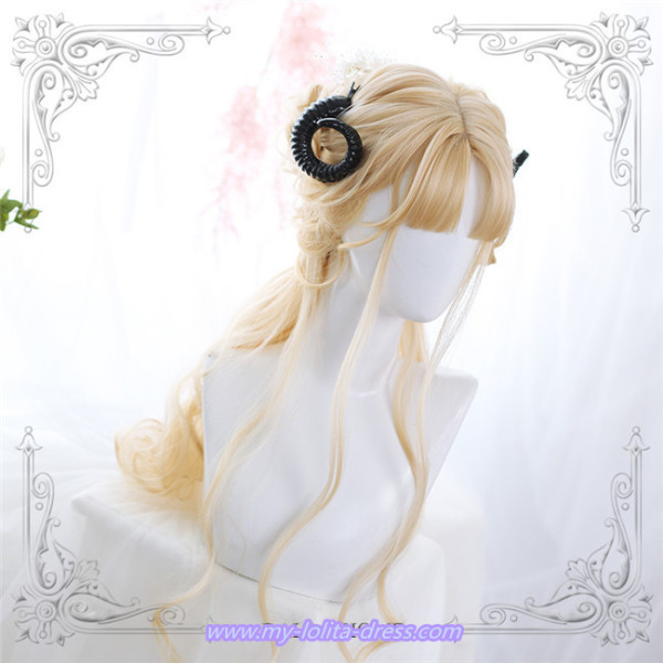 Dalao Home~65cm Long Curls  Lolita Wig