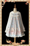 Bear Ears Dot~ Sweet Chiffon Lolita Blouse -OUT