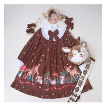 The Deer Forest~ Sweet Lolita OP -Ready Made