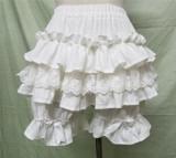Sweet Cotton Ruffles Lolita Bloomer