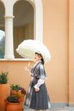 Fantastic Wind/Rabbit Teeth Lolita ~ Retro Mosaic Winter Coat