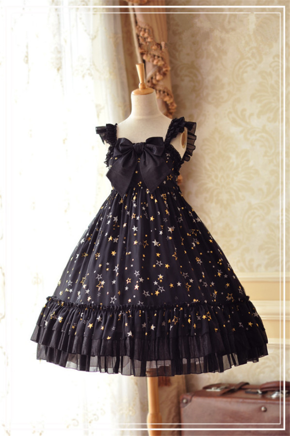 Constellation & Little Twinkle Star~Lolita JSK  -Ready Made