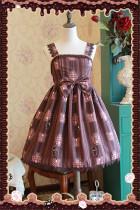 Chocolate Trojan Dailywear Version Lolita Jumper Dark Coffee L - In Stock