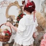 Flowers Chiffon Lace Lolita Blouse