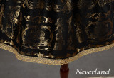 Neverland Lolita ~Golden Swan Lake~ Gold Stamping High Waist Lolita Skirt