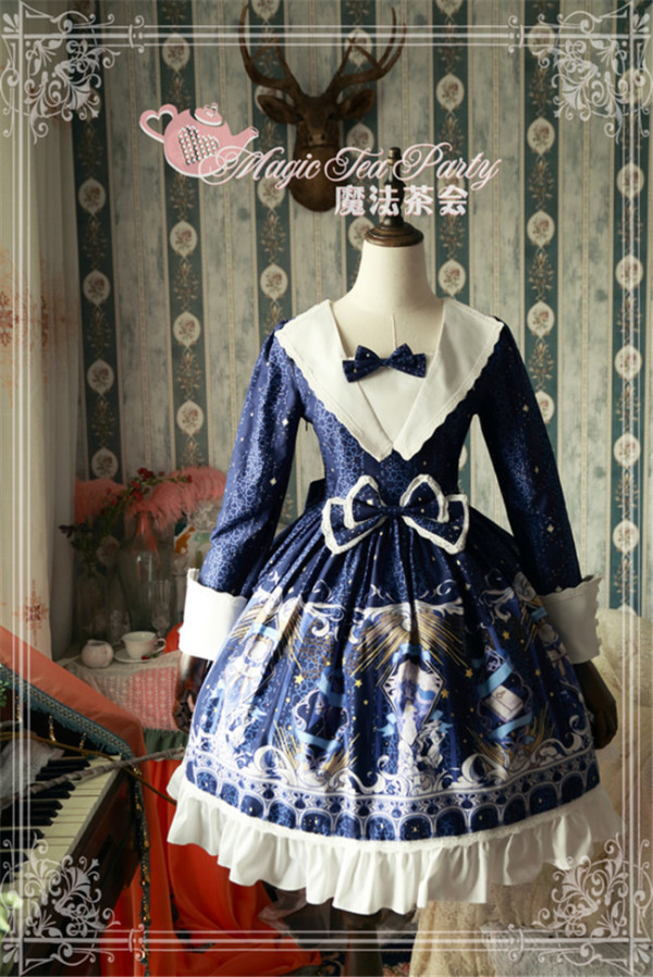 City Of Star~ Classic Lolita OP Dress