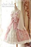 Dear Celine ~Sakura Rabbit~ Lolita JSK With Front Open Design -Ready Made