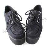 Velvet Straps Lolita Shoes