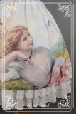 Neverland Lolita ~The Song of The Lark~ High Waist Oil Painting Printed Vintage Lolita Skirt