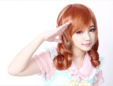 Sweet Chocolate Lolita Short Wig with Two Ponytails