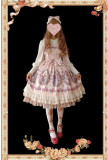 Flower Fairy~ Sweet Lolita JSK + Headbow - Ready Made