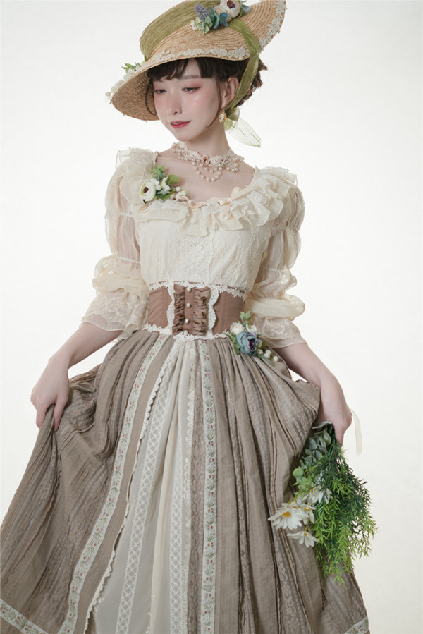 Miss Point ~ Salley Garden Lace Lolita Blouse -Custom Tailor