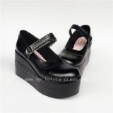 Pretty White Unicolor Lolita Shoes