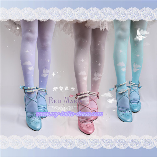 The Gradient Nebula~Sweet Lolita Tights
