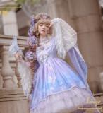 Ichigomikou ~Purple Delusion~ Luxury Fullset Dress + Accessories