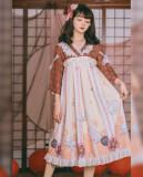 Honey Machien~ Japanese Origami  Lolita OP -Ready Made