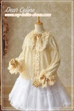 Aisha's Magic Book~ Soft Lolita Blouse -Ready Made