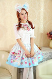 (Replica)Sweet White Sailor Collar White Size S - Free Shipping