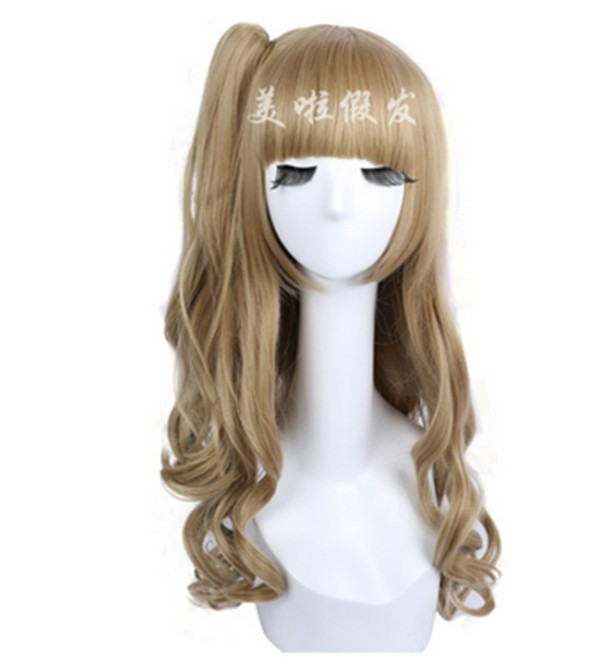 Cute Sweet Cosplay Anime Wig with One Side Ponytail