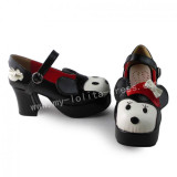 Black Cute Doll Lolita Heels