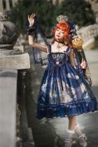 Nine Ode ~Nation of Dawn & Dusk Sweet Super High Waist Lolita JSK -Ready Made
