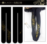 Witch Games- Gothic Lolita Tights for Autumn and Winter