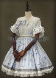 Classical Puppets Alice in Wonderland OP+Hat+Brooch+Apron Size S - IN STOCK