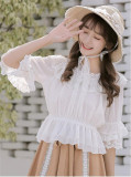 2018 New Version Sweet Chiffon Blouse