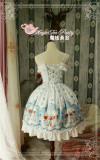 The Musician In Bremen Town ~ Lolita Printed JSK Dress