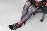 Neverland Lolita ~Maiden in the Garden~ High Waist Fishbone Skirt