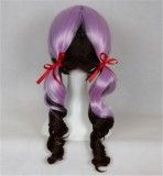 Cute Face Framing Purple Gradient Cosplay Wig