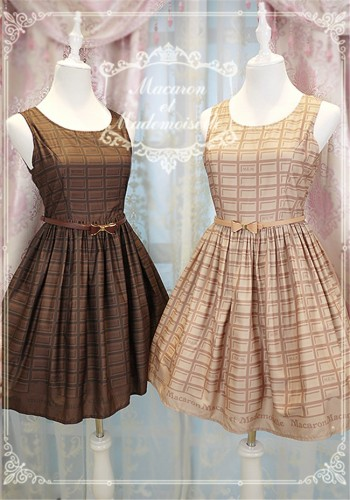 Chess Story -Macaron et Mademoiselle-Lolita JSK Dress