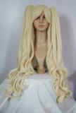 Light Blonde Wavy Ponytail Princess Wig