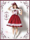 Magic Tea Party Sweet Dailywear Lolita JSK -Pre-order