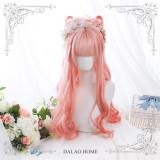 Dalao Home Peach Lolita Wigs