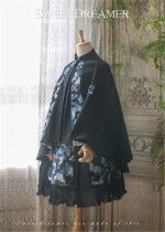 Moon Under The Beauty~ Mink Cashmere Feeling Lolita Cape Coat