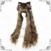 European Style Brown Curls Lolita Wig