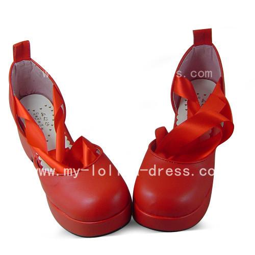 Sweet Red Tokyo Babylon Hokuto Someragi Shoes