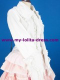 White Bows Lace Shirt Sweet Style off