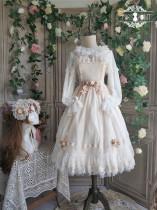 Dawn Maiden~ Vintage Classic Lolita JSK Ready Made